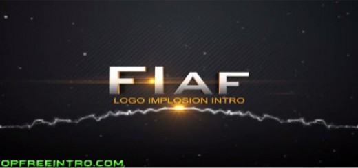 Free Logo Intro Template After Effects -Logo Implosion Intro-