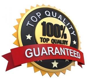 100% top Quality guaranteed