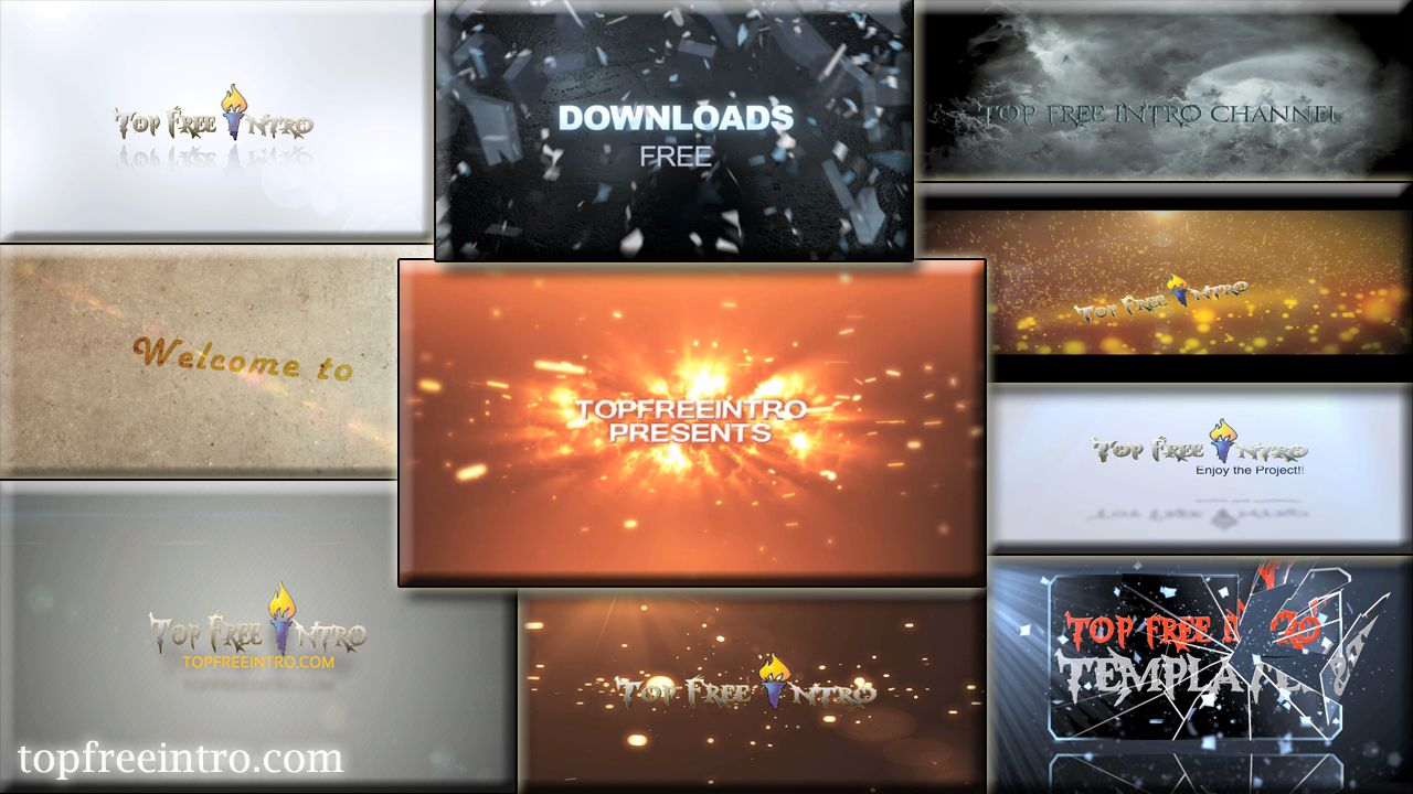 top 10 free intro templates 2015 after effects no-plugins+download, Powerpoint templates
