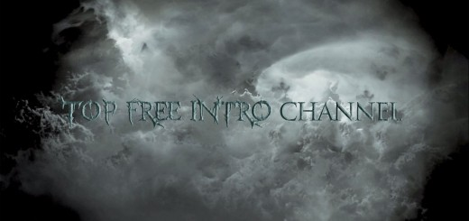 free intro template ae dark cloud