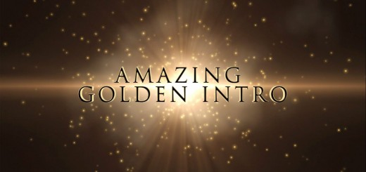 Free After Effects Intro Template - Golden