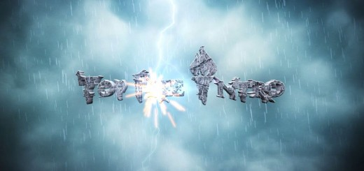 Logo Animation After Effects Intro Template Free - Storm Lightning Logo
