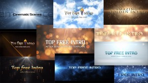 """Top 10 free intro templates """"after effects intro templates"""""""