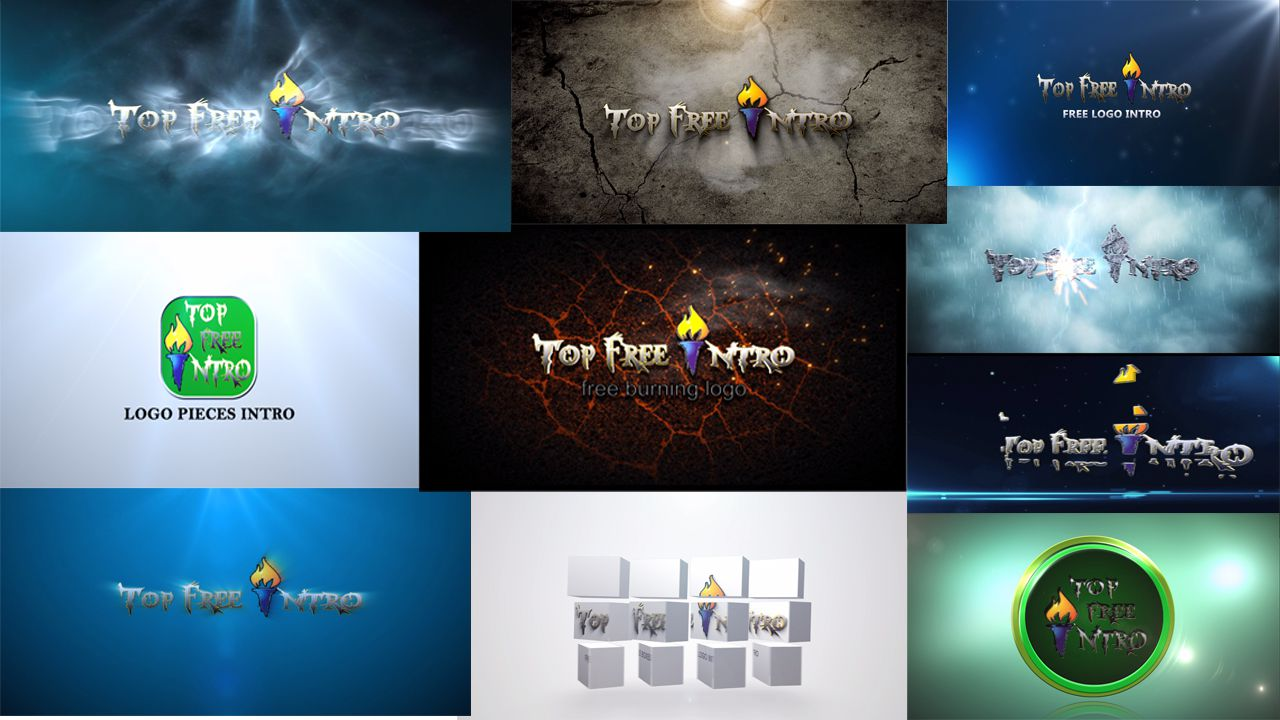 Top 10 Logo Animation After Effects Intro Templates Free + No ...