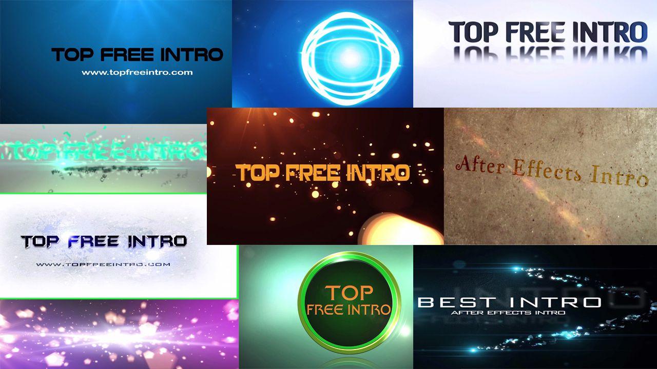 Top 10 Free Intro Templates 2015 \