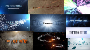 Top 10 Free Intro Templates 2016 After Effects CS6