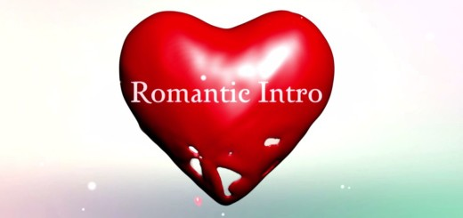 romantic intro template sony vegas