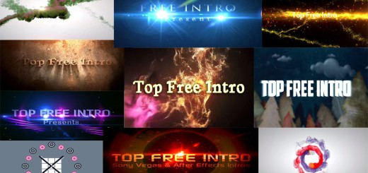 Top 10 Free Intro Templates 2016 Sony Vegas Pro 13