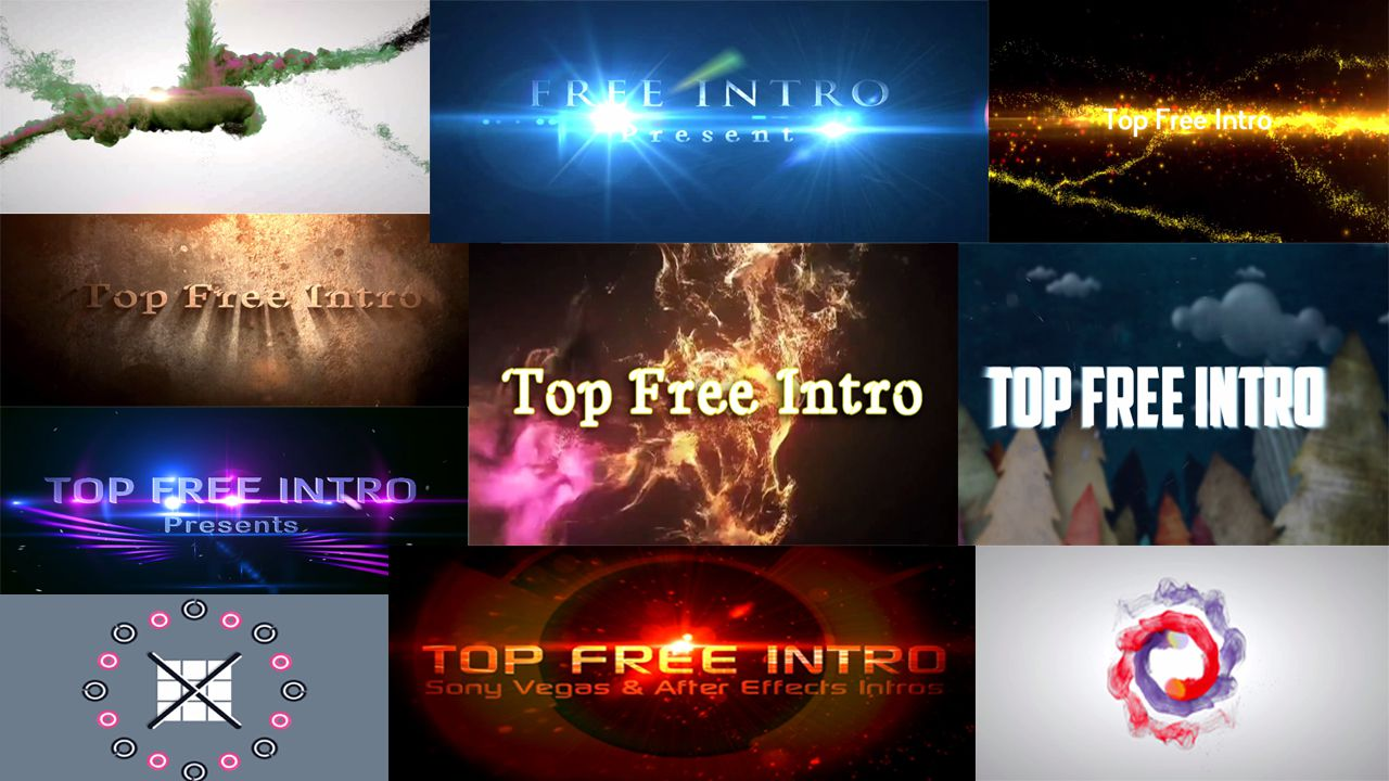 free intro templates for sony vegas
