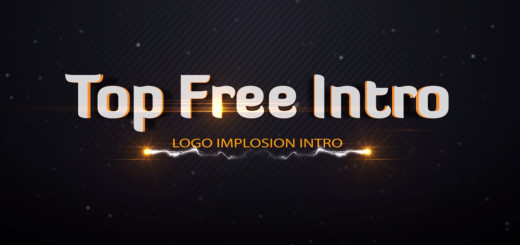 After Effects Intro Template -Logo Implosion-