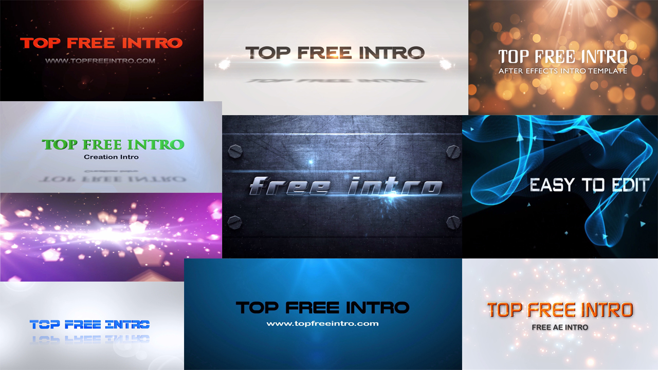 Top 10 free intro templates 2015 after effects intro templates top 10 free after effects intro templates 2016 no plugins download pronofoot35fo Images