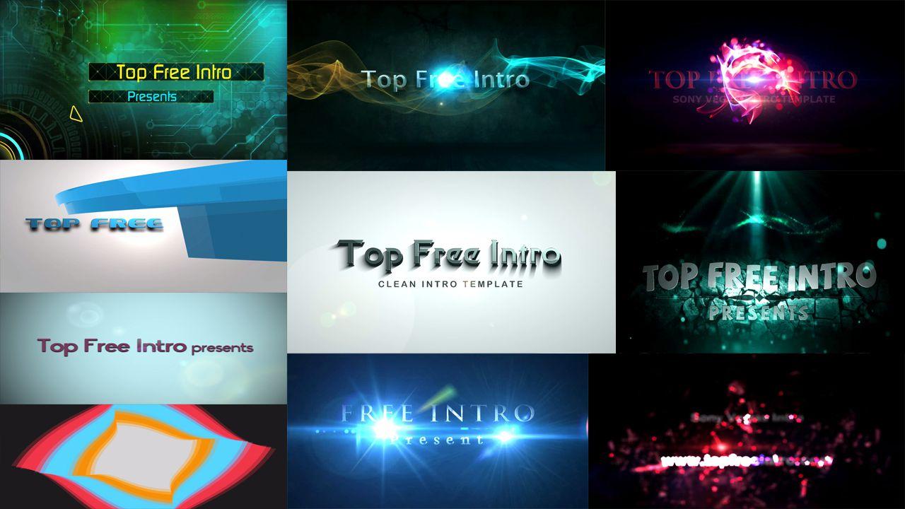top 10 free intro templates 2016 sony vegas intro template