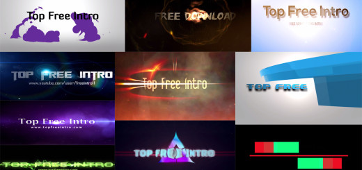 Top 10 Free Intro Templates 2016 Sony Vegas download+No-plugins