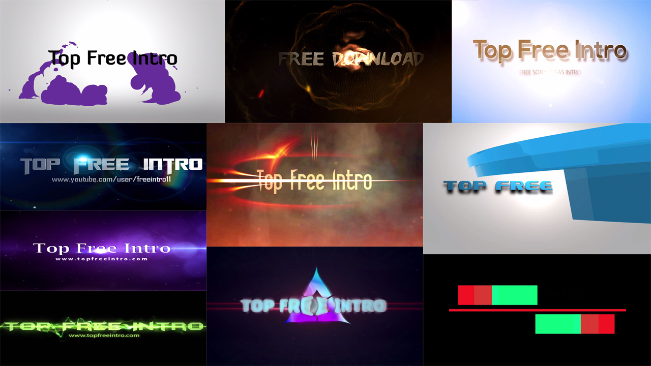 top 10 free intro templates 2016 sony vegas download+no-plugins, Powerpoint templates