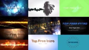 Top 10 Sony Vegas Intro Templates