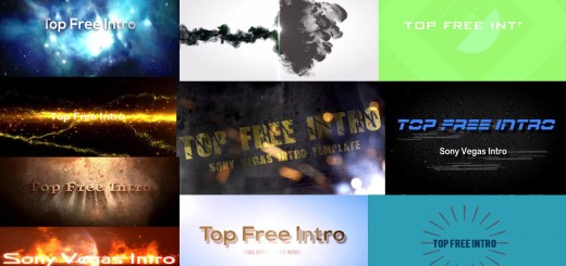Top 10 Sony Vegas Intro Templates