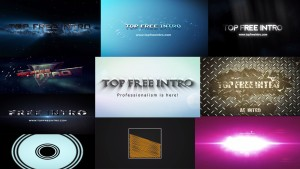 Top 10 Free Intro Templates No Plugins After Effects Intro CS6 CC