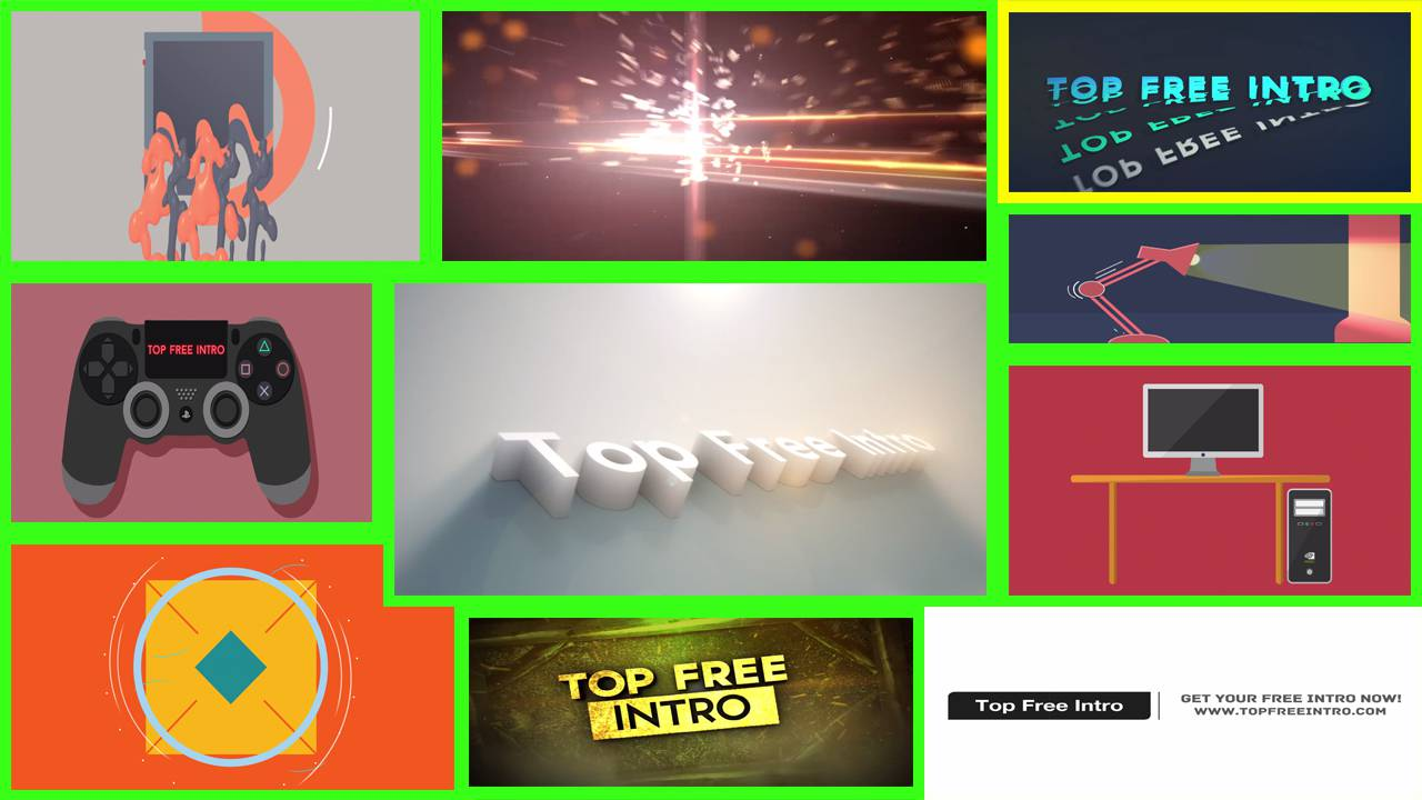 top 10 free intro templates 2017 after effects cs6