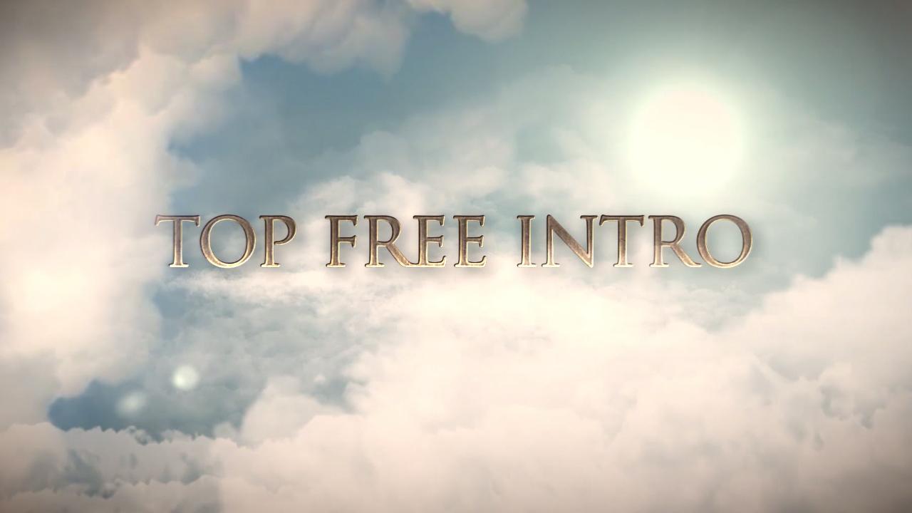 Top 10 FREE Intro Templates 2017 After Effects CS6   topfreeintro.com