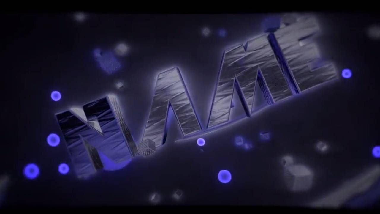 Free Blender Intro Template 120
