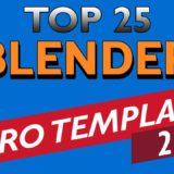 blender intro templates
