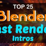 Blender Fast Render Intro Templates