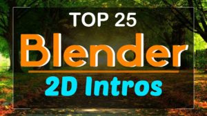 Blender 2D Intro Templates