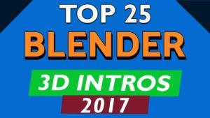 Blender 3D Intro Templates 2017