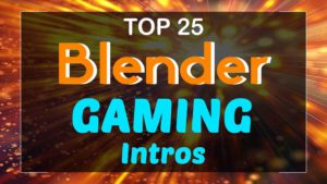 Blender Gaming Intro Templates