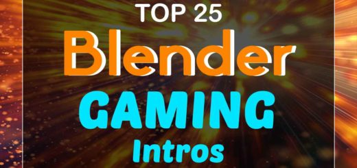 Blender Gaming Intro Templates