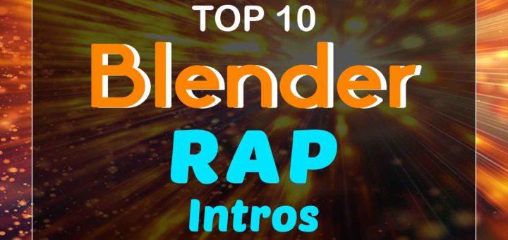Blender Rap Intro Templates