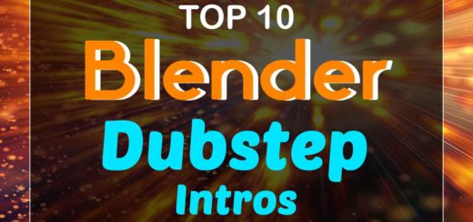 Blender Dubstep Intro Templates
