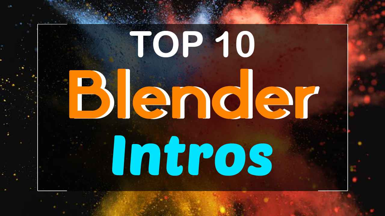 top 10 intro templates 2017 blender only free download topfreeintro com