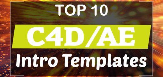 C4D & AE Intro Templates