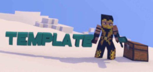 Best Minecraft Intro Template Blender Free 18