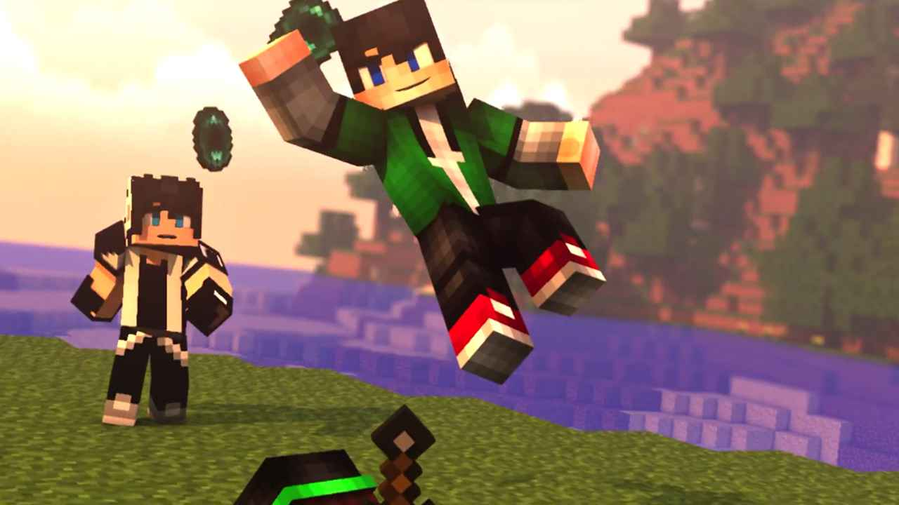 Best Minecraft Intro Template C4d Amp Ae Free Download 17