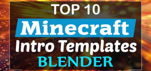 Top 10 Minecraft Intro Templates Blender
