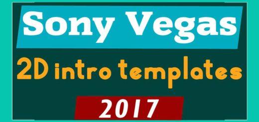2D Intro Templates Sony Vegas Pro 13