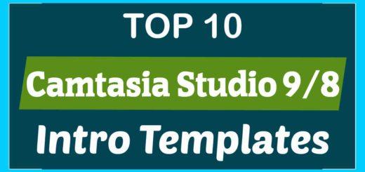 Top 10 Camtasia Studio 9 8 Intro Templates