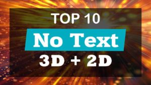 Top 10 Intro Templates 2017 No Text Download Free 3D+2D